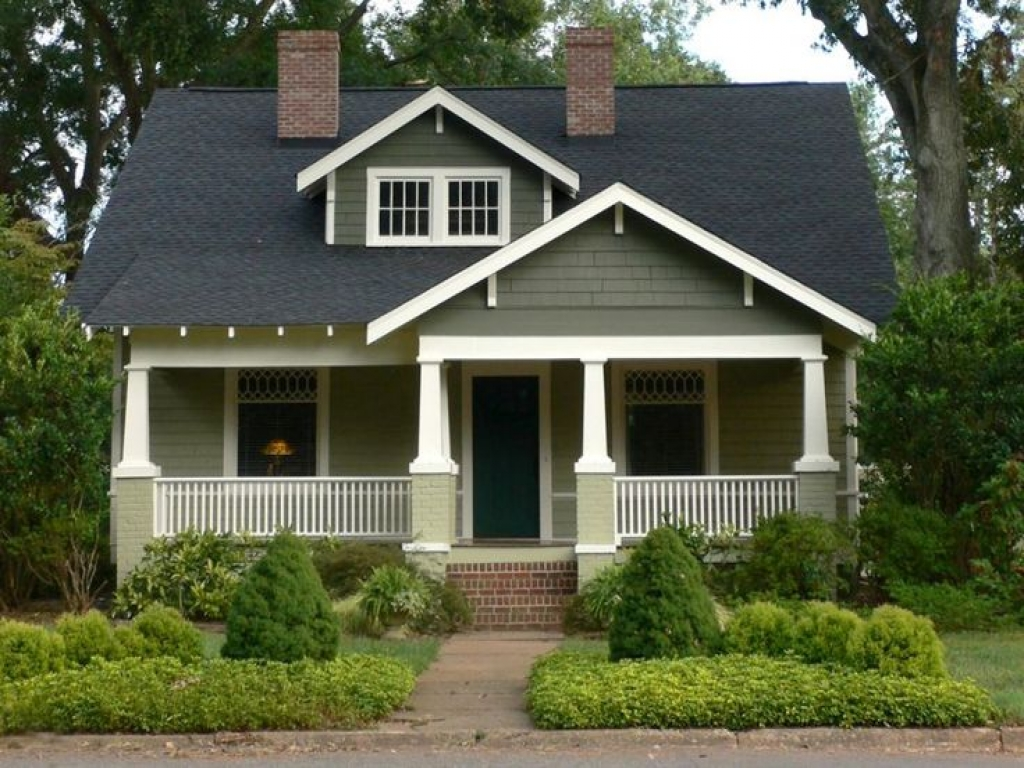 1920s Bungalow Exterior House Colors 1920s Craftsman