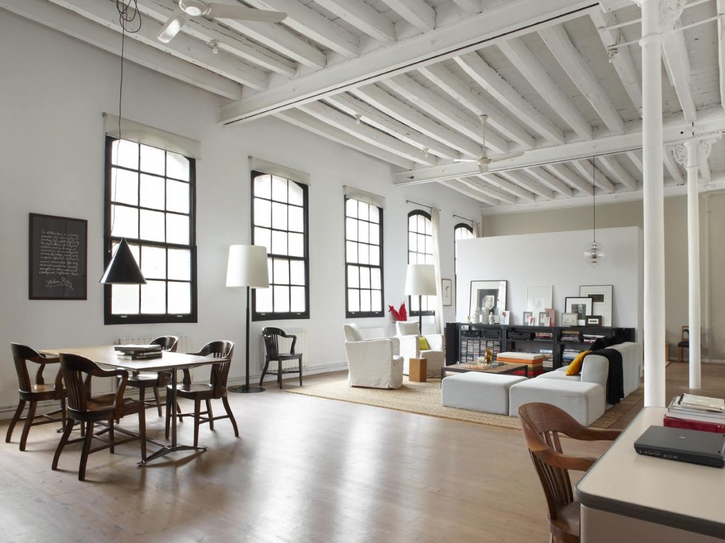New York Industrial Loft Style Industrial Loft Living