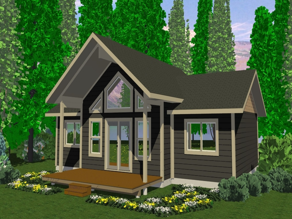 Small Cabins With Lofts Small Cabins And Cottages Plans