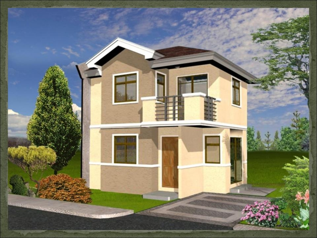 Small two bedroom house plans simple small house design philippines popular house designs for Small modern house designs and floor plans