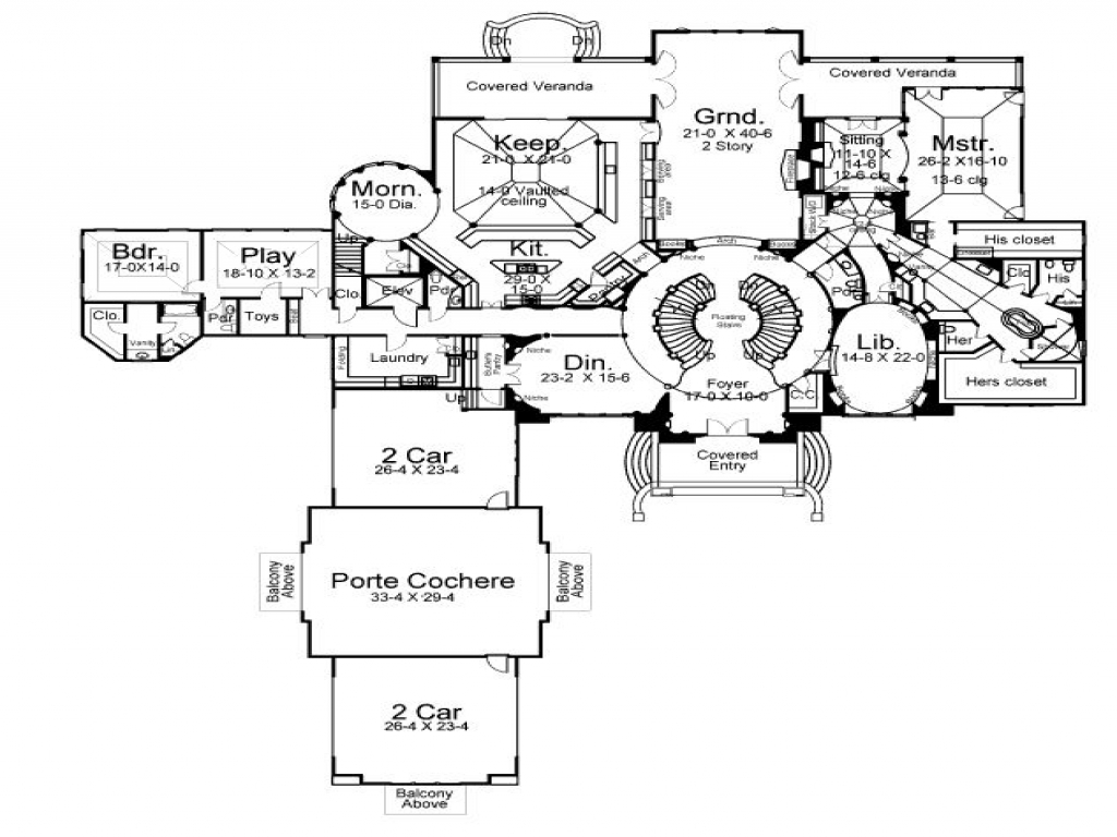 Large wisconsin luxury houses large luxury house floor for Large luxury home plans