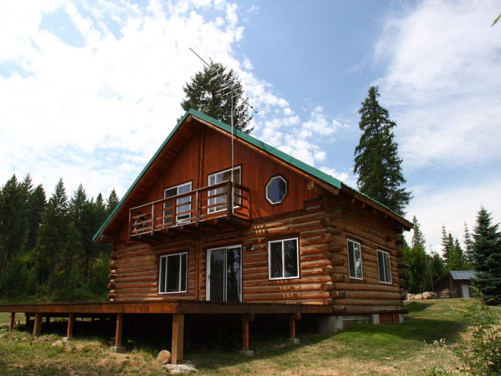 One story log home interior one story log home additions for Single story log homes