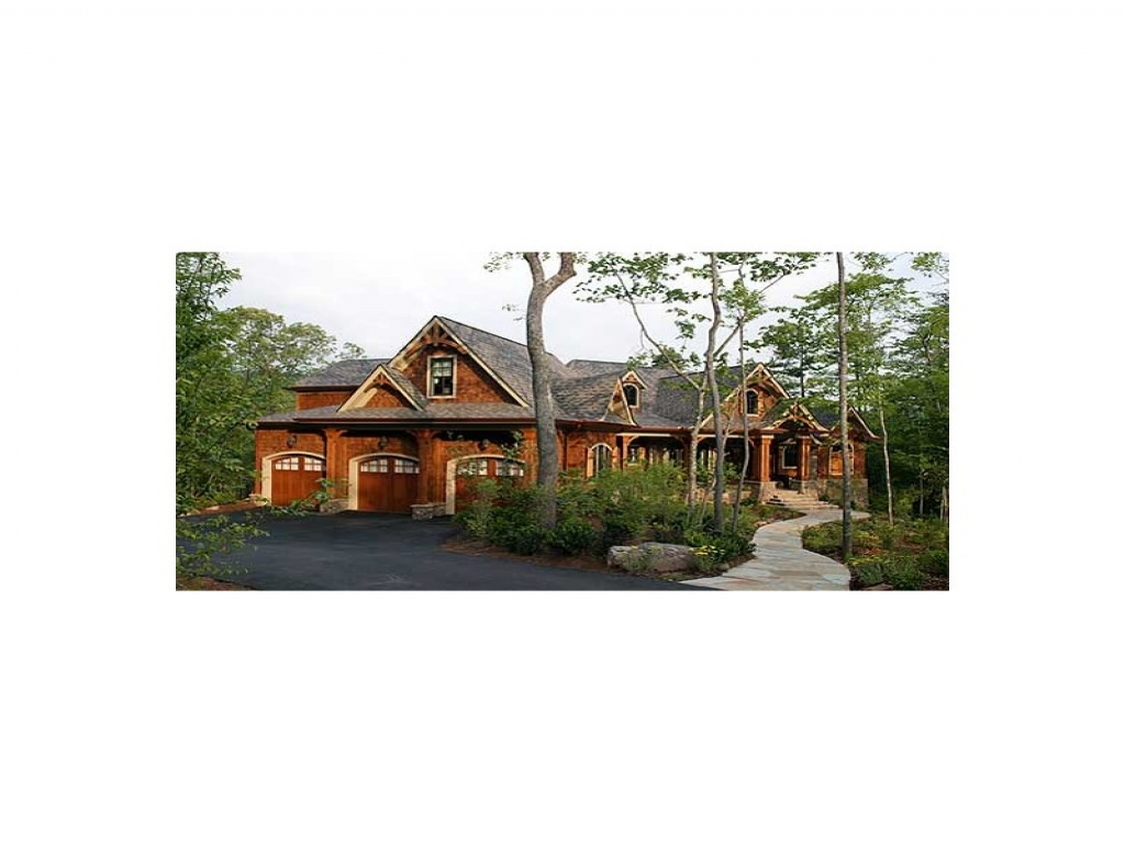 Picks luxury house plans stunning rustic craftsman for Rustic luxury house plans
