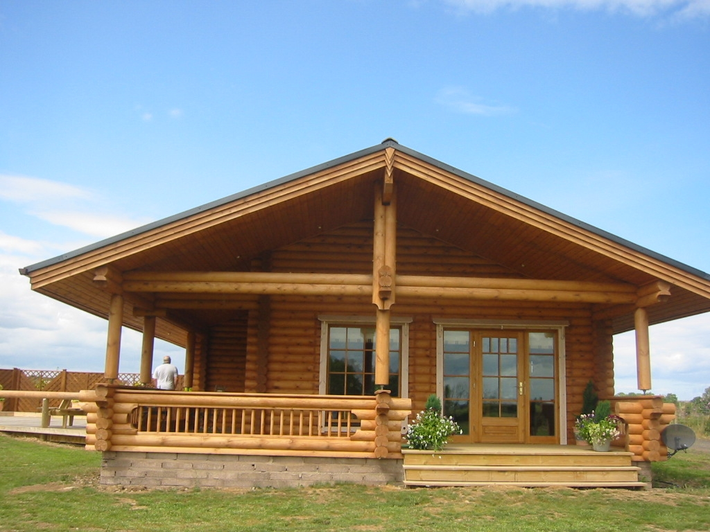 Log cabin mobile homes log cabin style manufactured homes for Log cabin styles