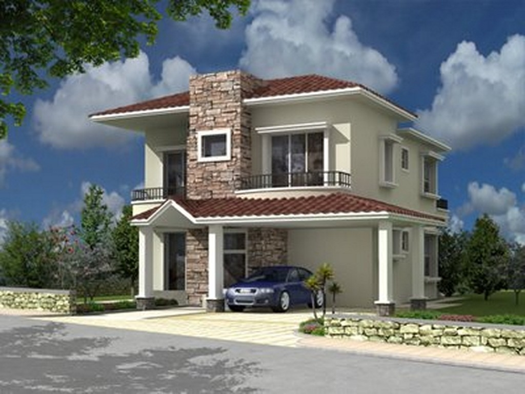 Modern bungalow house design small modern house designs for Small home design philippines