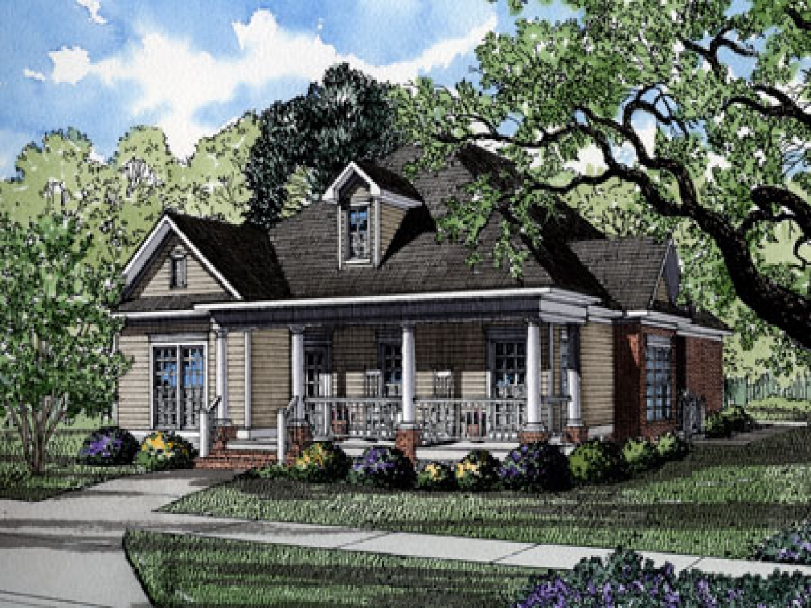 Southern living house plans historic cottage living house for Historic southern home plans