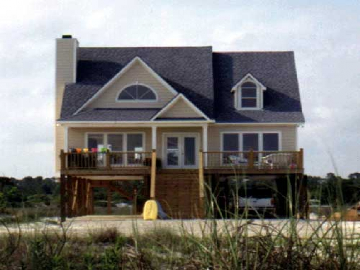 Beach house plans narrow beach house plans with porches for Narrow beach house