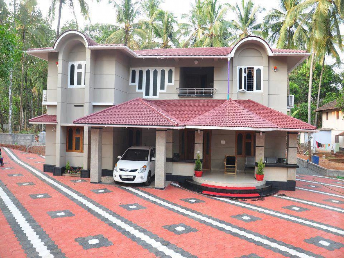South indian houses best indian house models best house for Model house photos in indian
