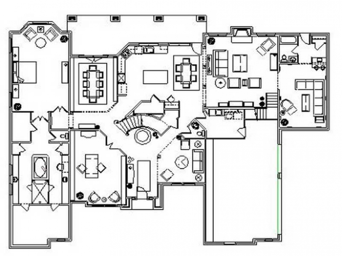 Residential floor plans designs floor plans for ranch for Residential home plans