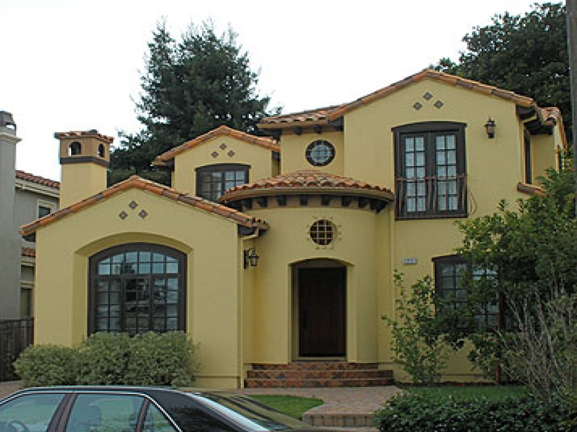 Spanish style home design contemporary spanish style home for Spanish house design