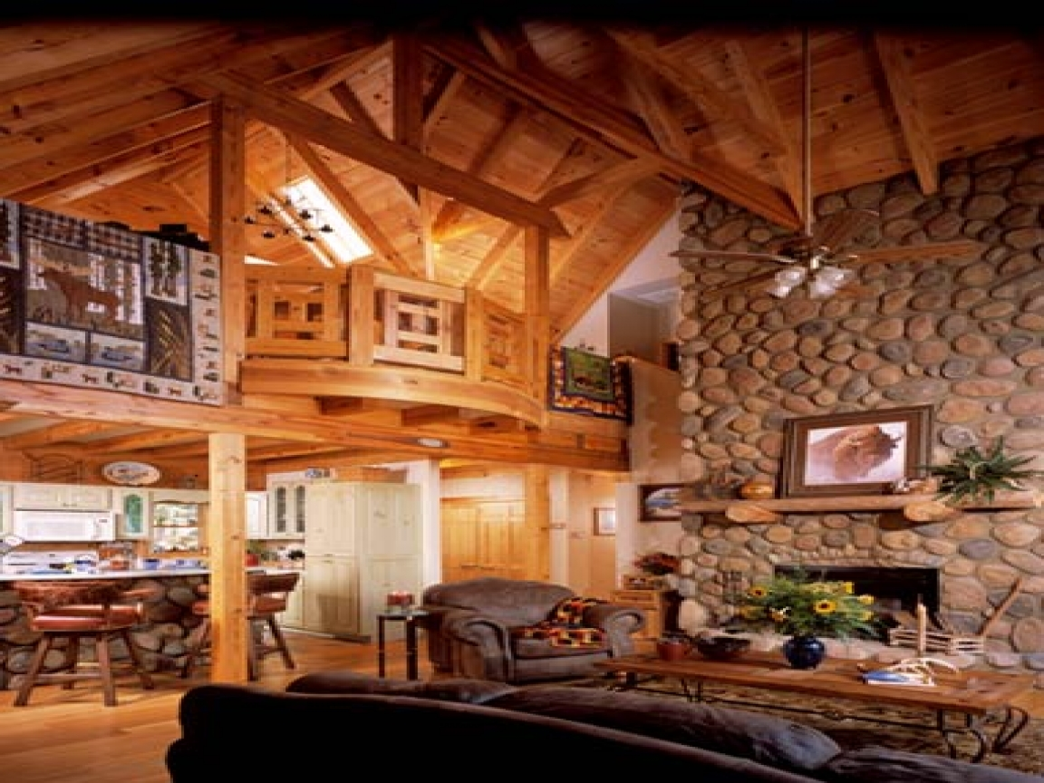 Log cabin homes with lofts luxury log cabin homes for Build your own luxury home