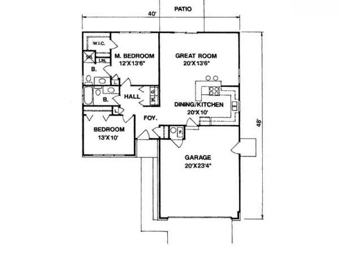 1200 square feet 1100 square feet 3 bedrooms 2 batrooms for 1200 sq ft house plans 3 bedroom