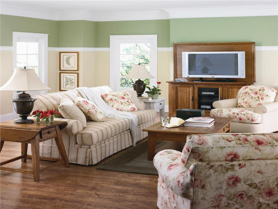 Living Room Paint Color Ideas With Brown Furniture Country