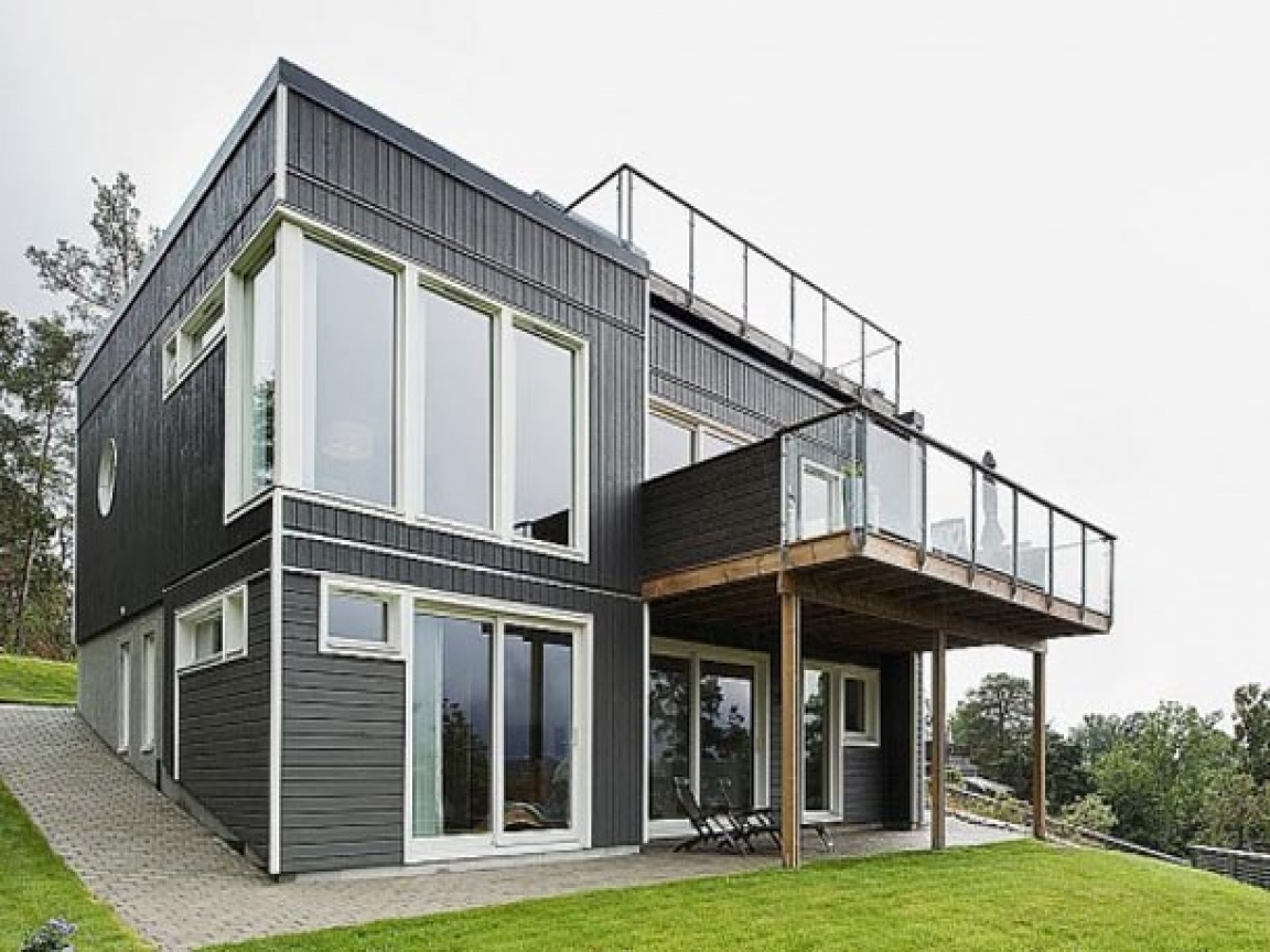 Modern Homes with Balcony Designs Two-Storey Homes with ...