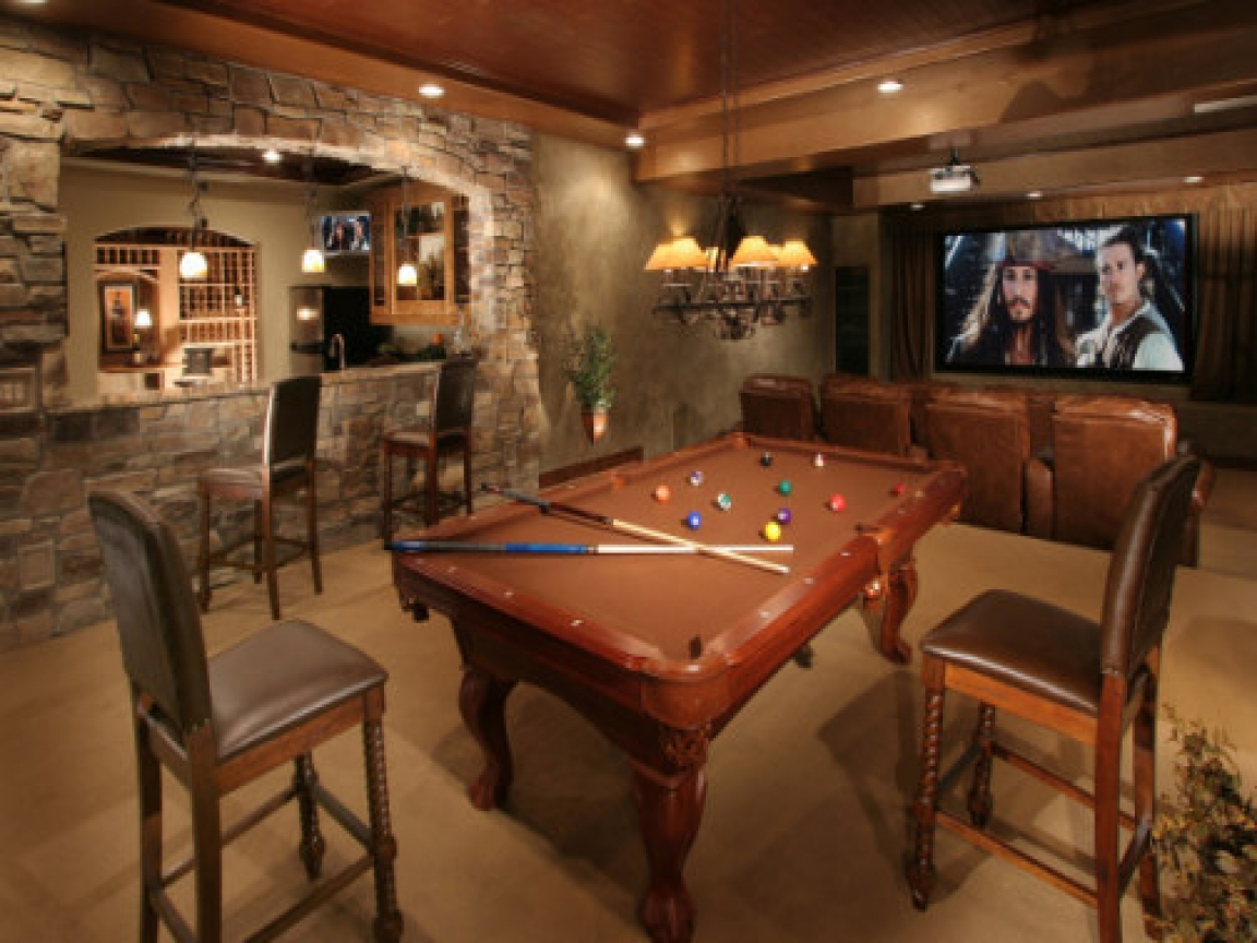 Ultimate man cave rustic man cave luxury tuscan house for House plans with man cave