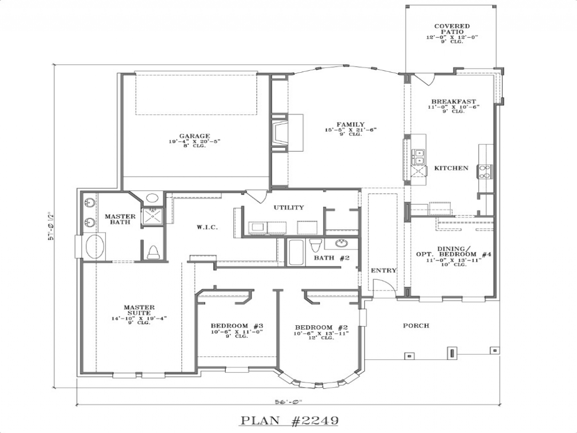 House plans with rear garage simple small house floor for Rear entry garage house plans
