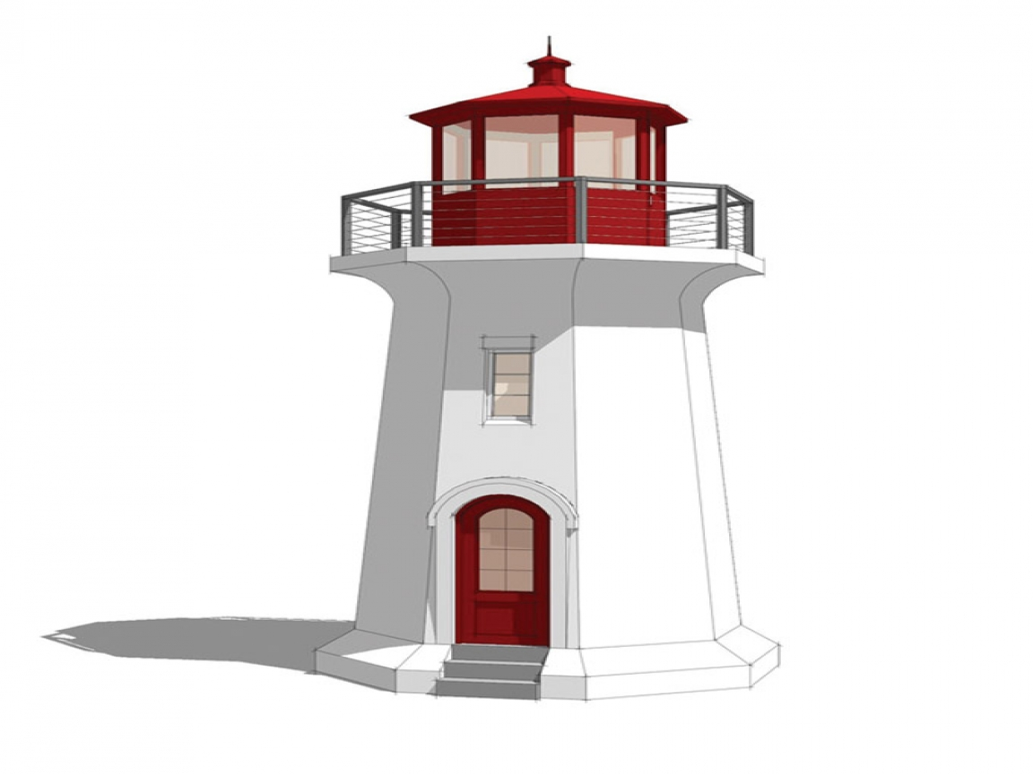 Lighthouse Design Floor Plans Real Lighthouse Construction