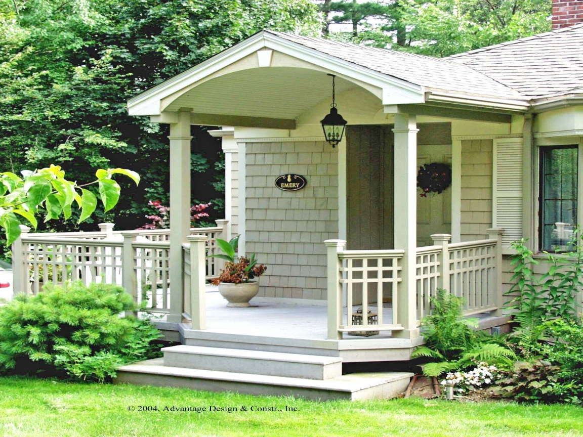 Small Front Porch Design Ideas Small Front Porch Design