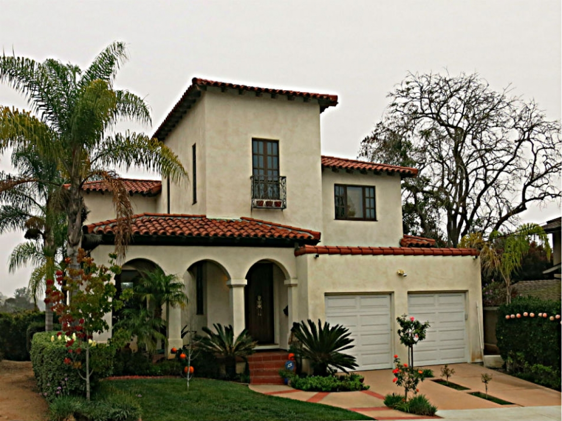 Spanish mission style house plans california mission style for Italian style home plans