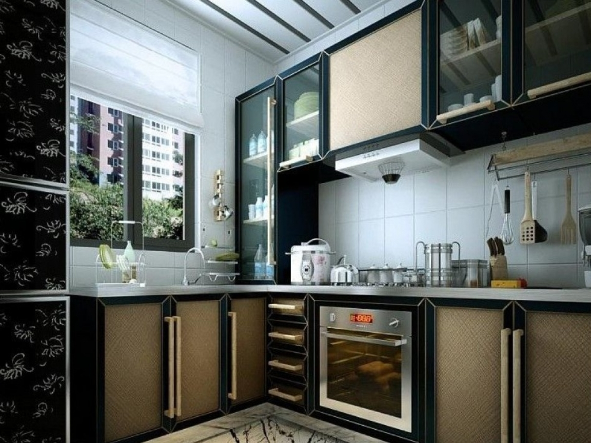 Small kitchen layout design modular kitchen designs for Modular kitchen for small kitchen
