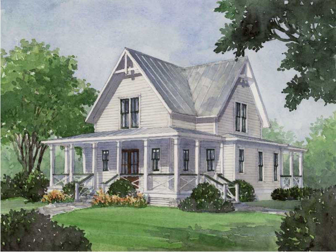 Southern Living Four Gables House Plans House Plan Four