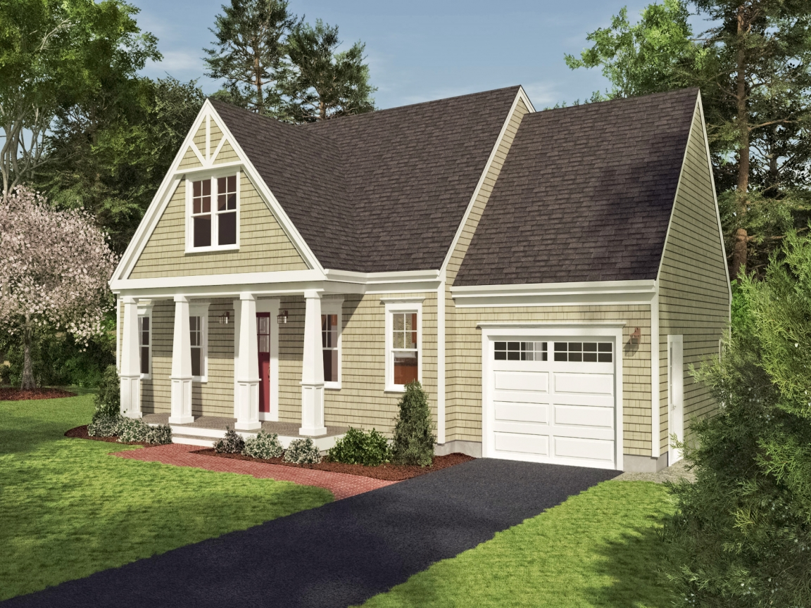 Cape cod craftsman style homes cape cod plans with porches for Cape cod cottage style house plans