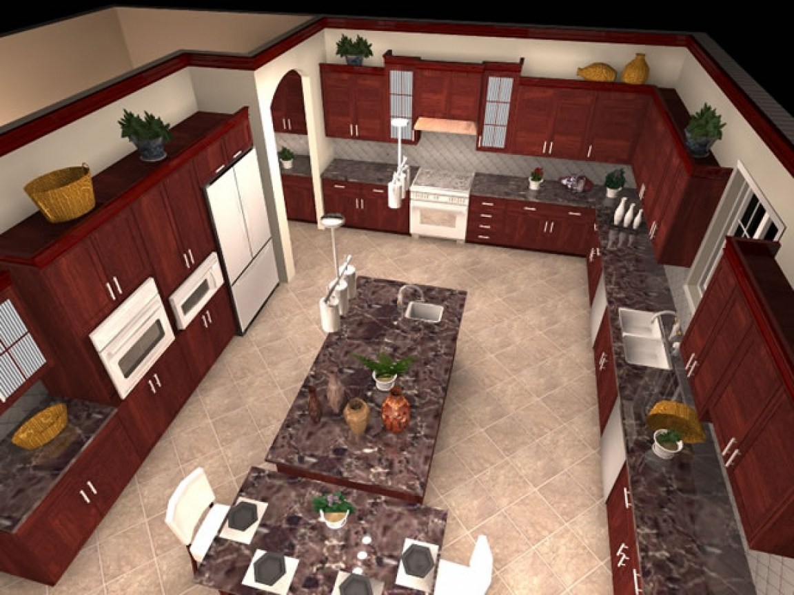 12 x 12 kitchen design floor plan 12 x 12 kitchen design for Design a space online