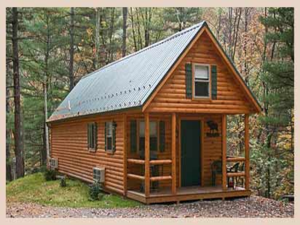 Small hunting cabin plans small hunting cabin floor plans for Tiny hunting cabin