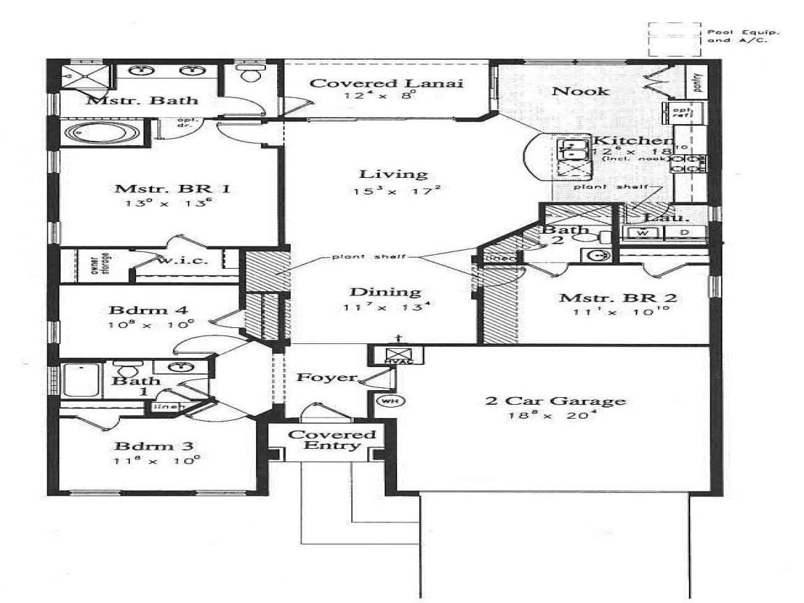 Florida luxury home floor plans florida luxury dream homes for Small house plans florida