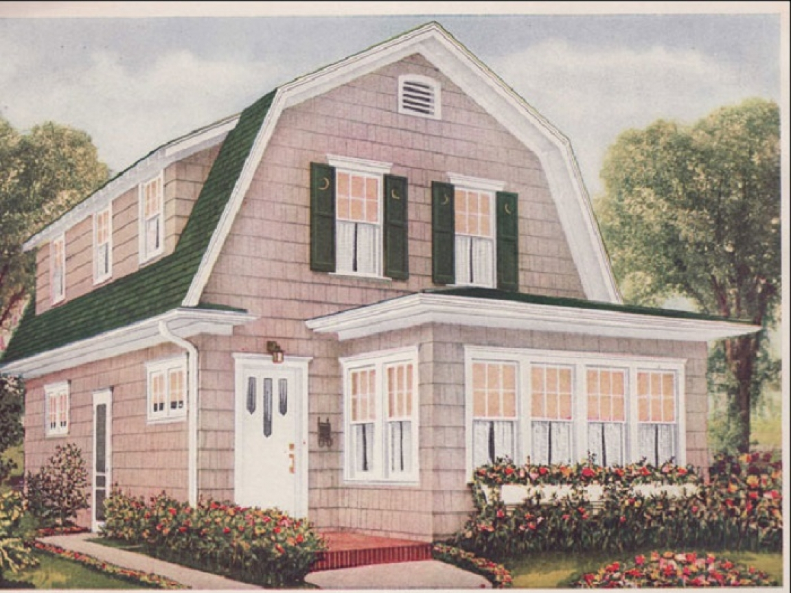 Dutch colonial style house plans southern colonial style for Dutch colonial plans