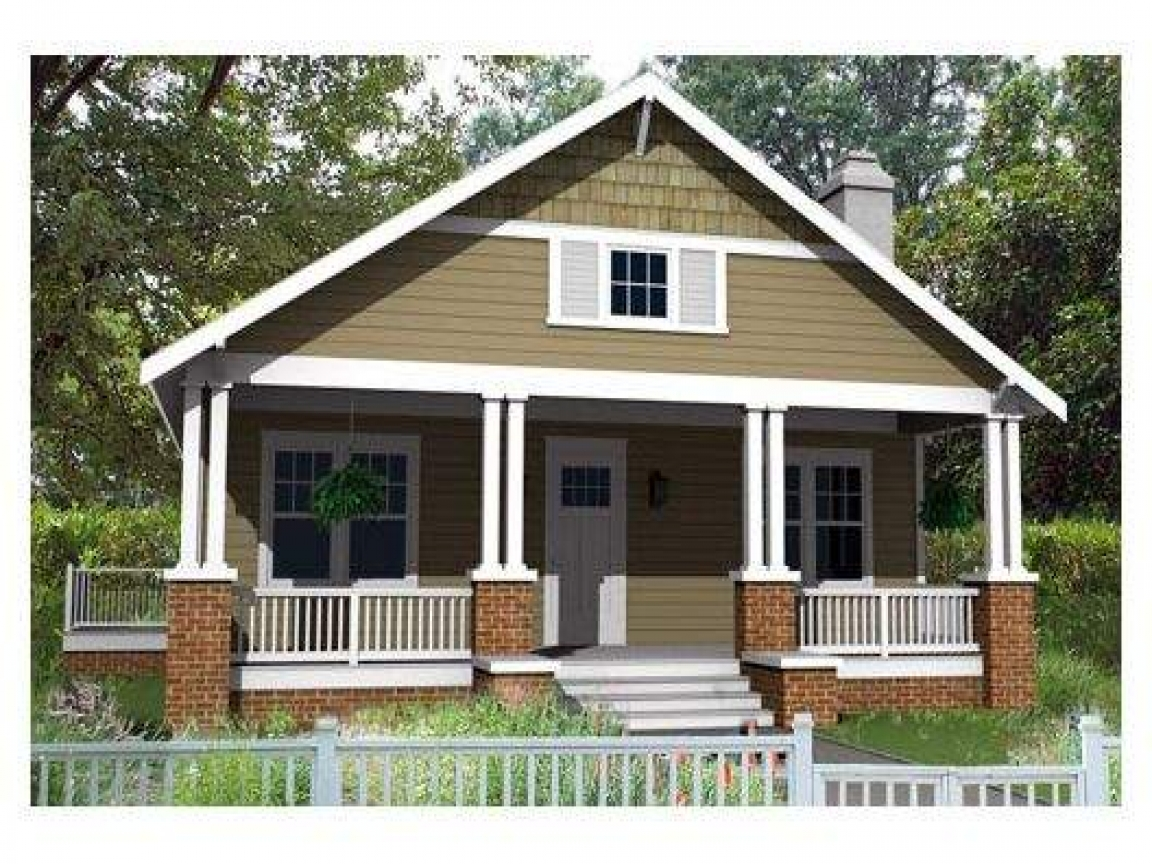 Tiny Romantic Cottage House Plan Small Bungalow House Plan ...