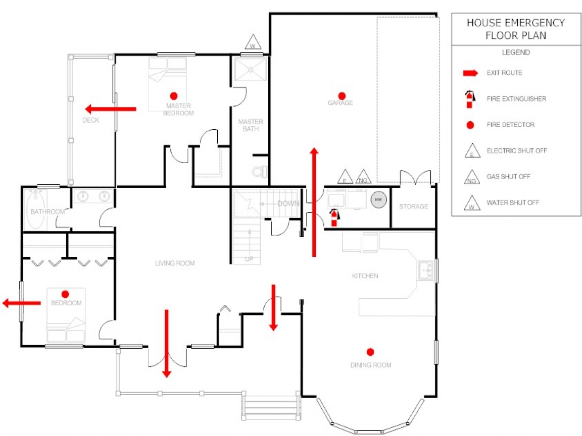 emergency exit plan template emergency exit floor plan