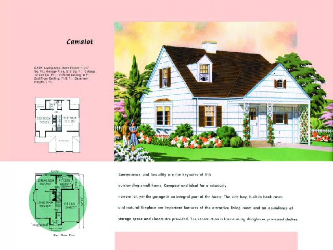 Traditional cape cod house plans 1950s cape cod house for Cape cod house layout