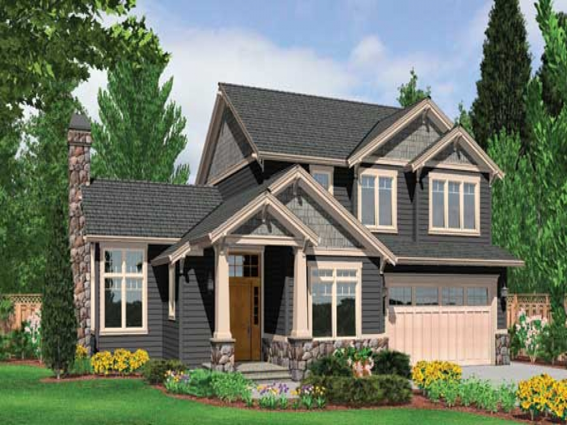 Modern craftsman style homes best craftsman style house for Small craftsman house plans
