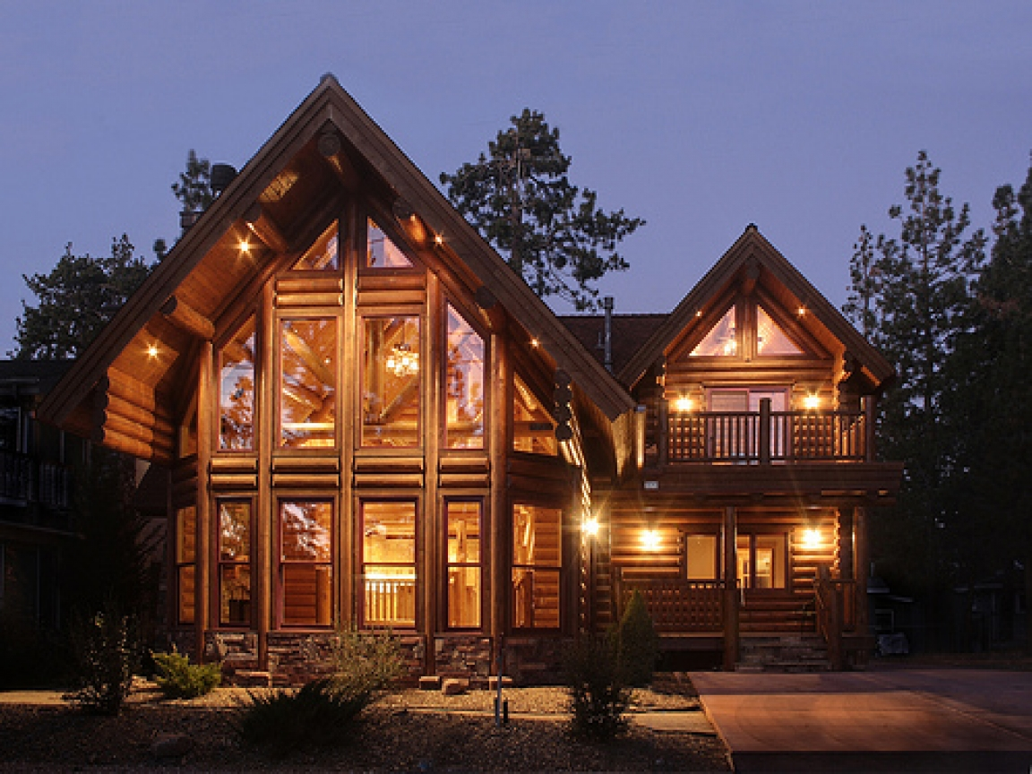 Love Log Cabin Homes Big Log Cabin Homes  Best Cabin Design