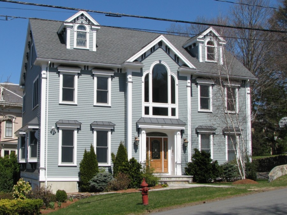 Colonial home new england colonial homes colonial house for New england home builders