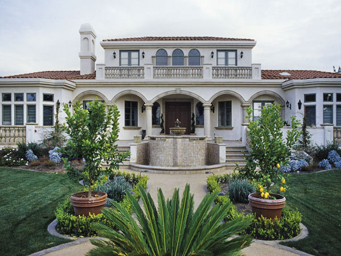 Home luxury mediterranean house plans designs for Luxury home models