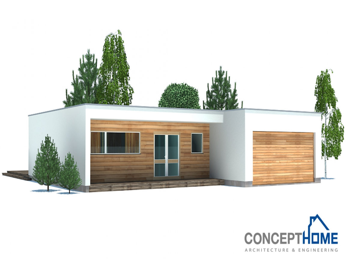 Inexpensive modern homes affordable modern house plan for Affordable modern home decor