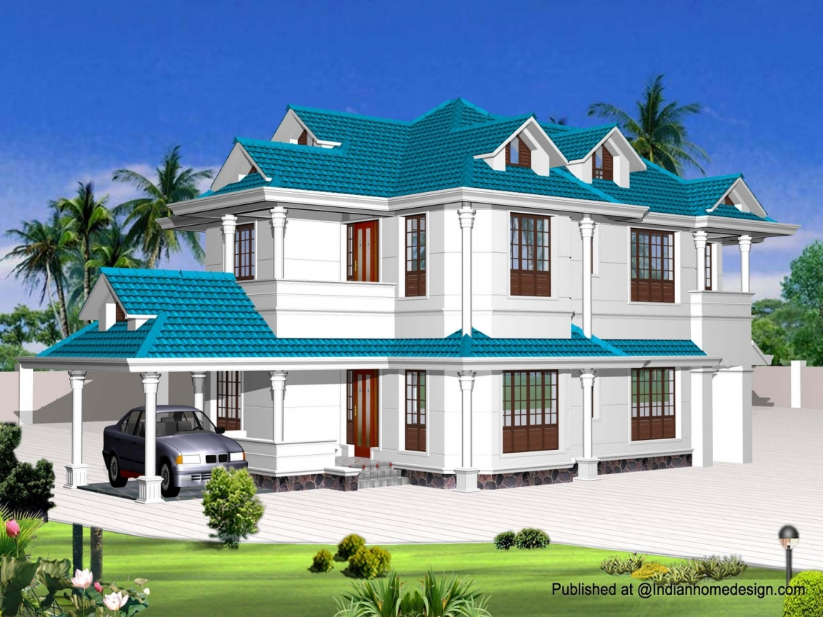 Rustic home exterior designs indian exterior house designs for Indian house exterior design