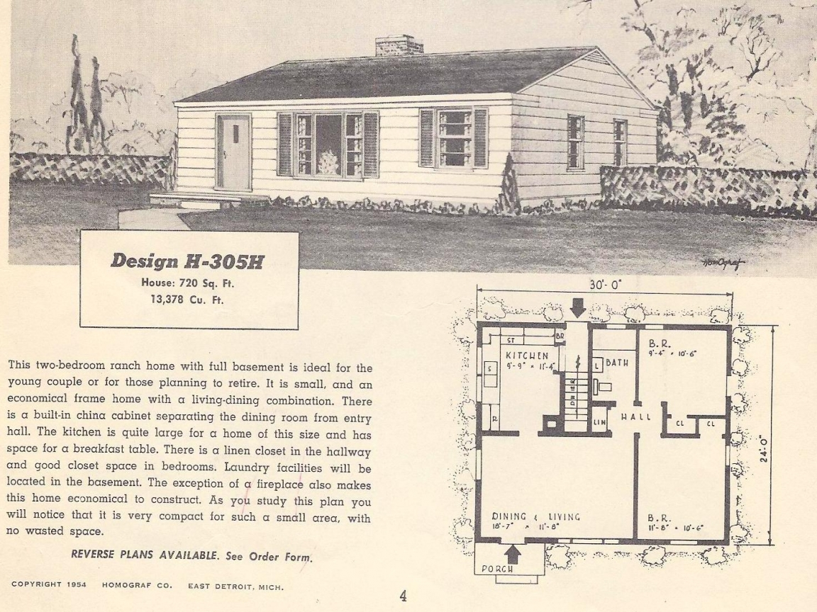 Antique accessories for the home antique home vintage for Retro ranch house plans
