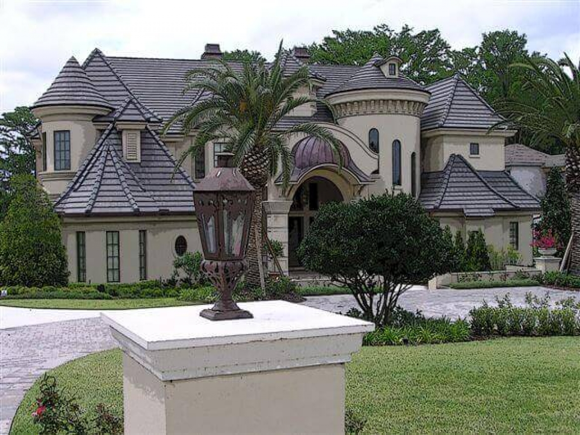 French Country Style Home Mediterranean Style Homes
