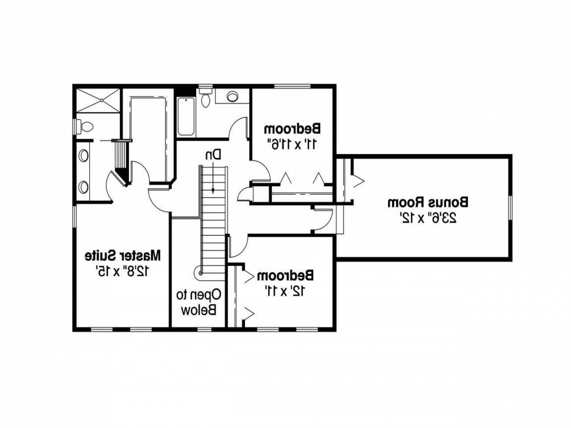 Traditional colonial house floor plans colonial house for Classic colonial home plans