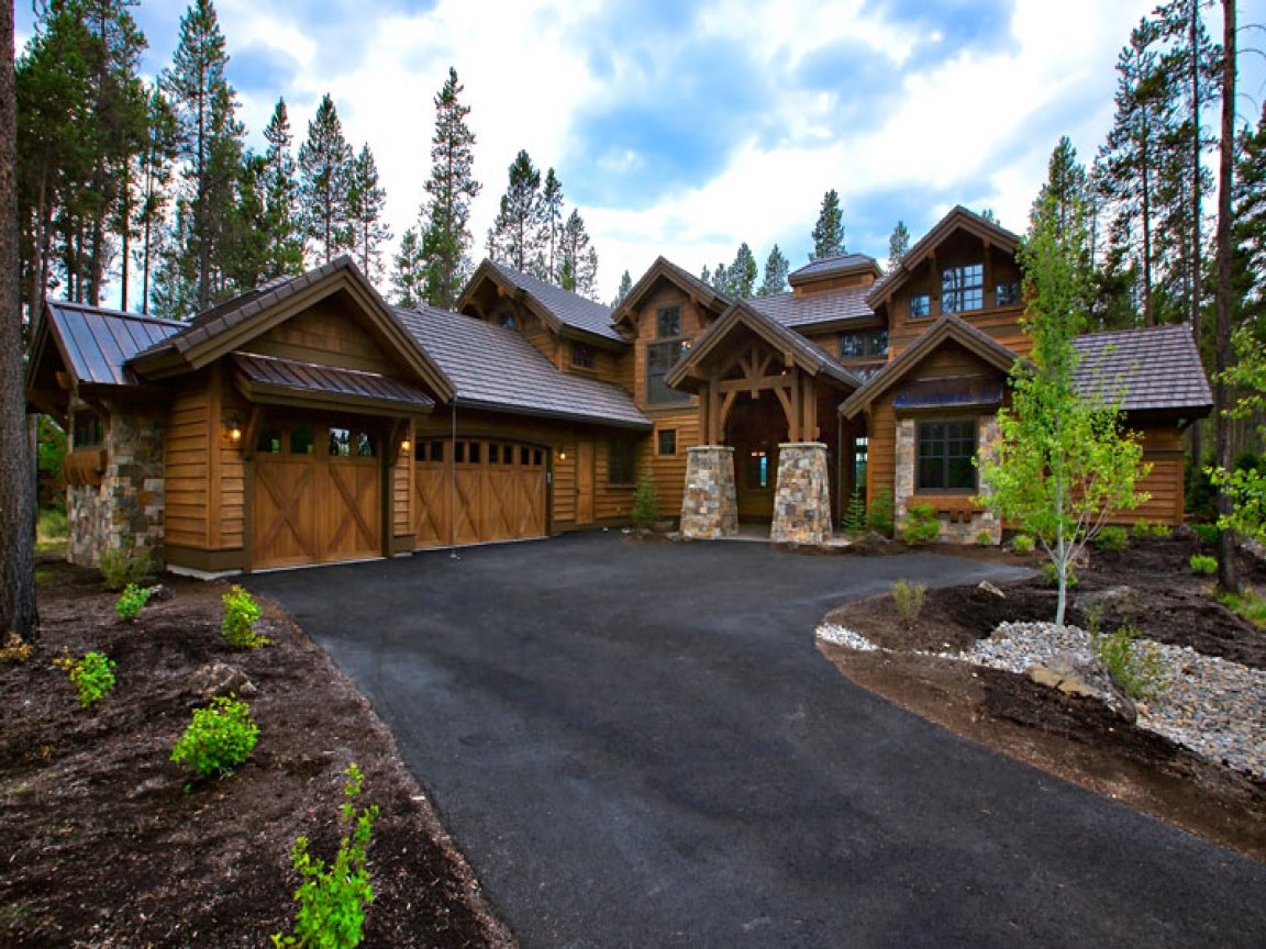 Craftsman Lake House Designs Mountain Craftsman House