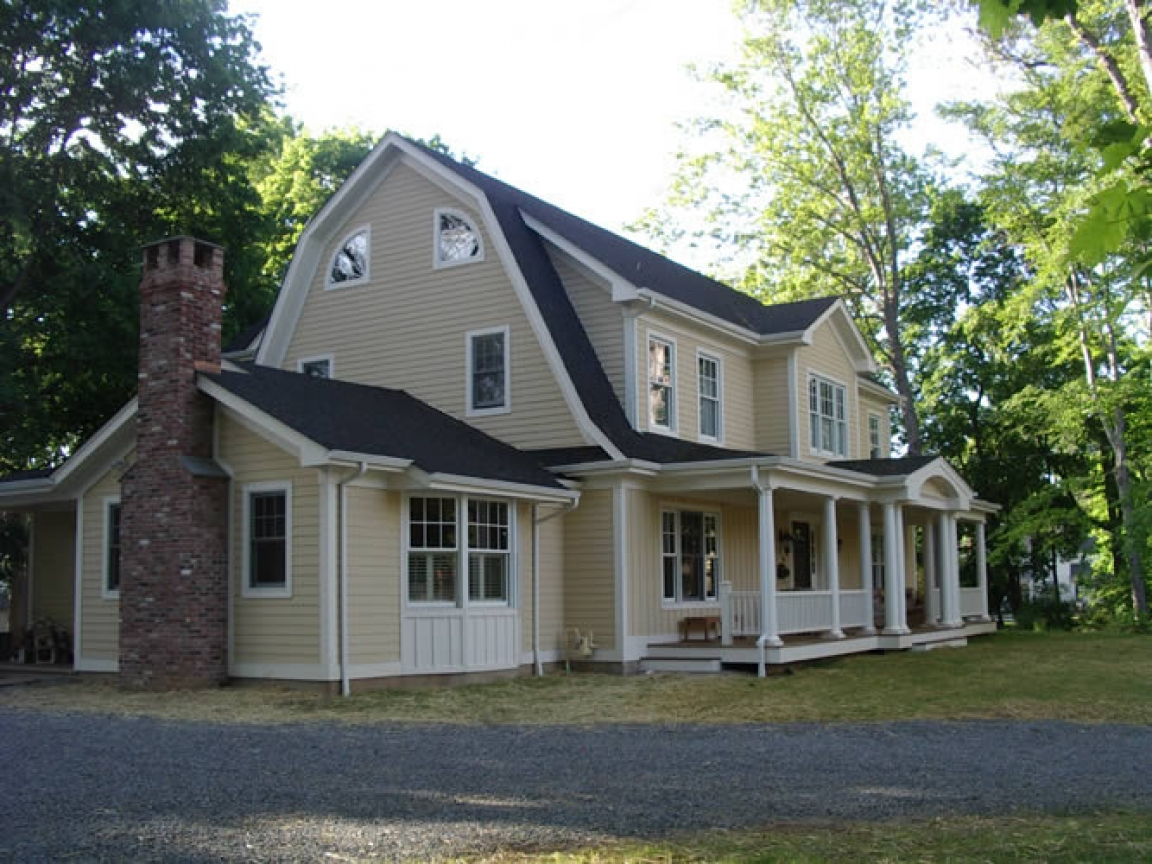 Dutch colonial house plans new england colonial house for New england colonial home plans