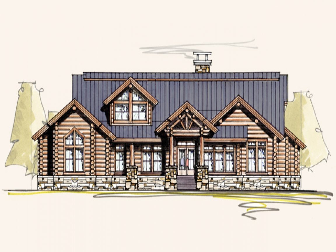 Texas ranch style homes ranch style log home plans log for Log home plans texas