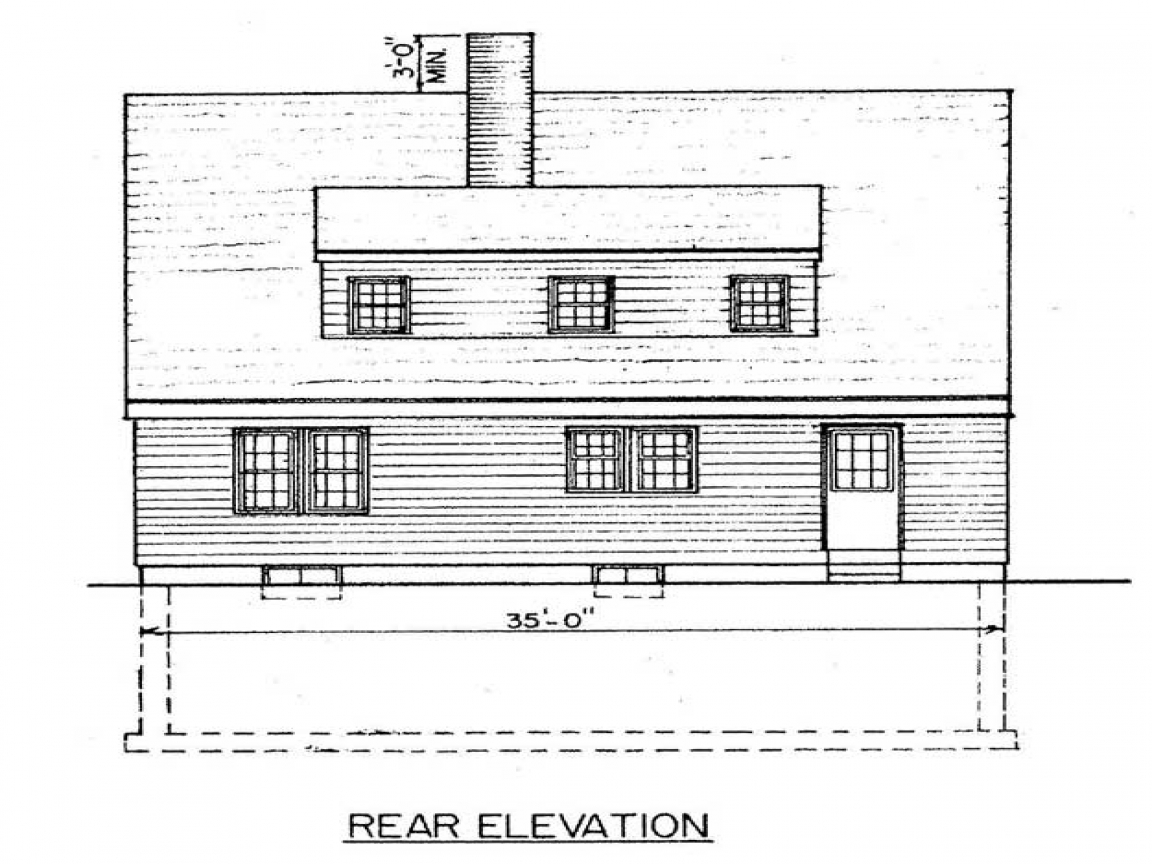 Simple Small House Floor Plans Saltbox House Plans Designs
