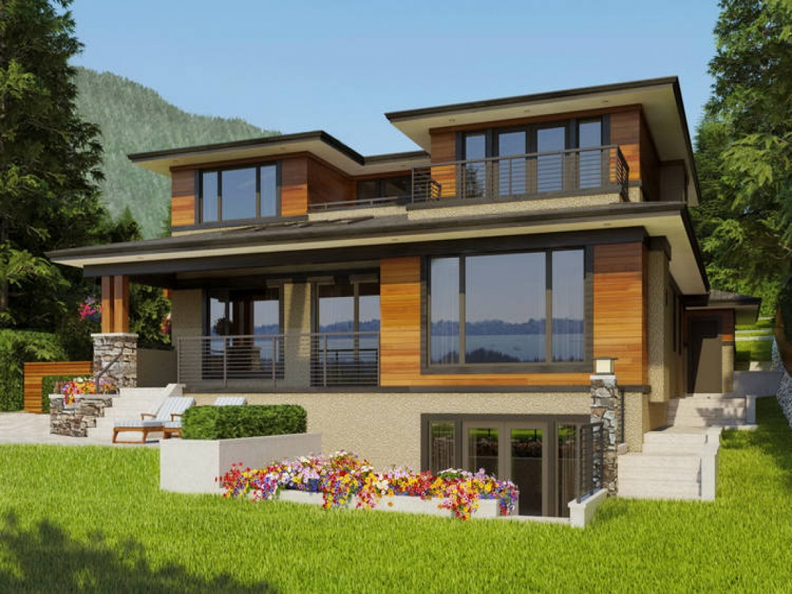 West Coast Contemporary Home West Coast Builders West