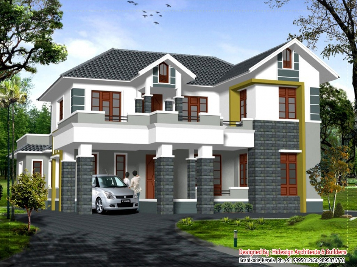 2 Story House with Balcony 2 Story House Roof Designs ...