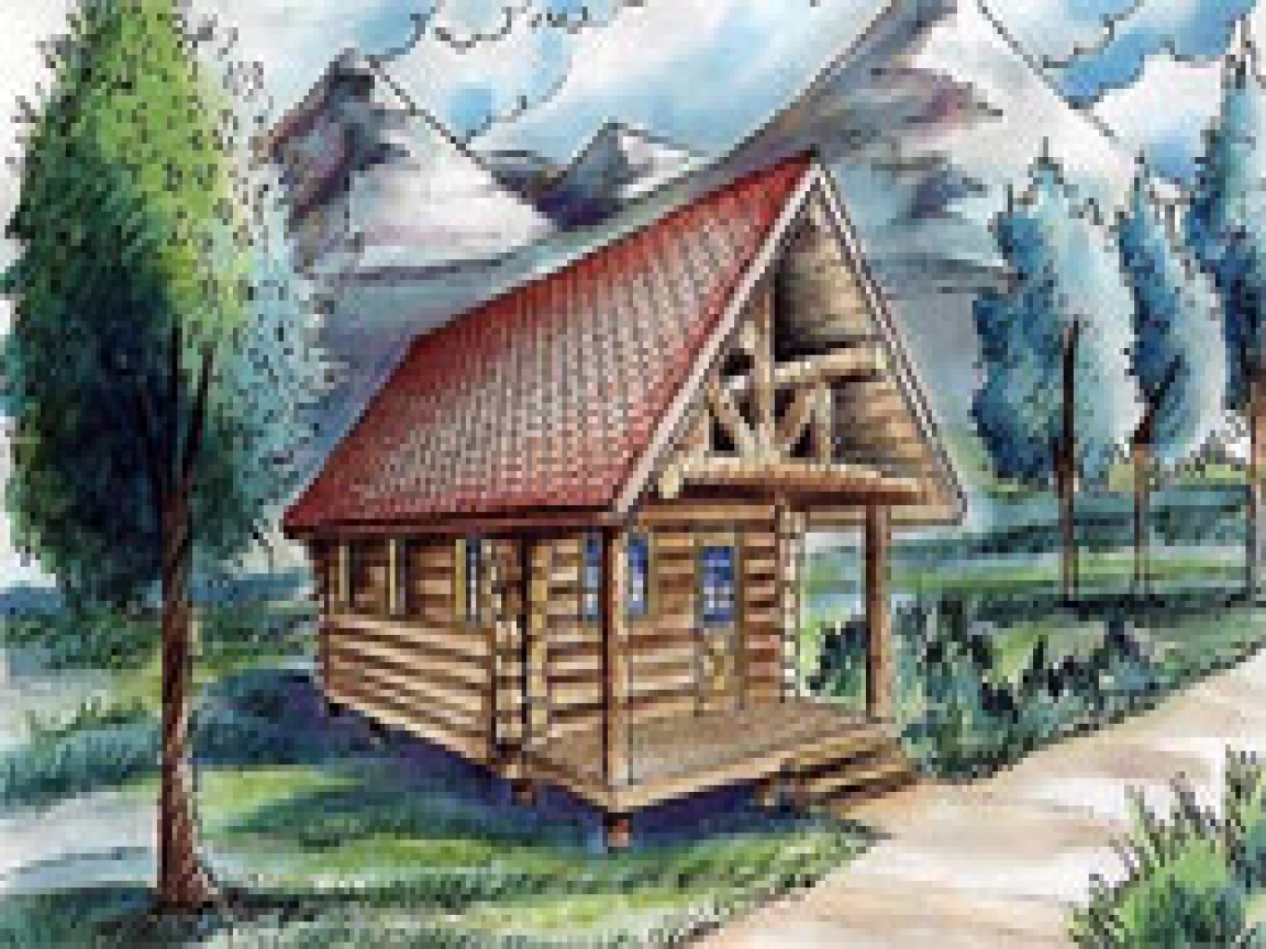 Do It Yourself Floor Plans: Hunting Cabin Plans Small Cabin Floor Plans, Do It