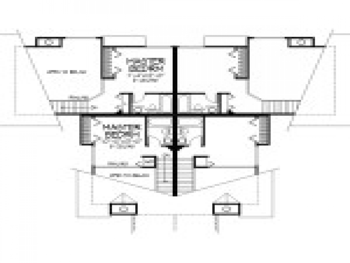 Modern multi family house plans home designs modern multi for Multi family home plans